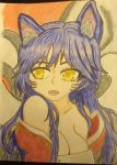 Ahri by professor-mooney13