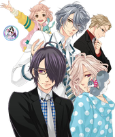 Brothers Conflict Render by PandoraAniLite