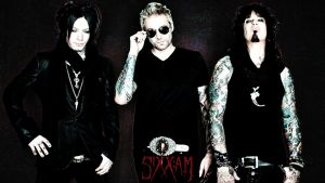 Sixx:A.M. desktop wallpaper by celticpath