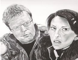 Daniel and Vala WIP by GuardtheDoors
