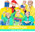 Jonghyun PNG Pack #1 - She Is (Teaser Photoshoot) by Bears-and-Cookies