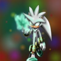 Silver the hedgehog by silvachito
