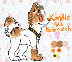 .:Ref:. Kandie W. Butterscotch by Rising-At-Midnight