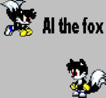 Al the fox by CozandTails