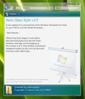 Vista Aero Glass v3.0 by pickupjojo