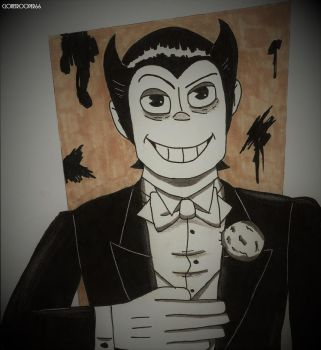 Bendy the Human by clonetrooper66
