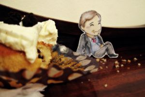 Mycroft loves cake! II by ocean-crystal