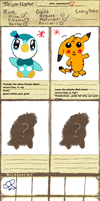 my PMD team application Thingy deux merchants by BeautifullyDarkened