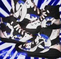 Shoes: Blue by GAME-OVER-CUSTOM