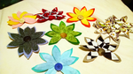 Floral Magnets by Club-of-the-Satyrs