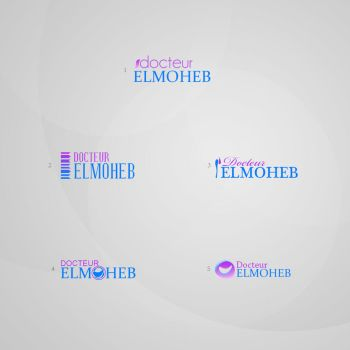 Elmoheb logo samples by r-dowaik