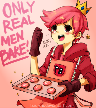 Prince Gumball: only real men BAKE! by Izzu-shi