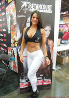Michelle Lewin for Betancourt At The 2014 Arnold by zenx007