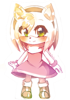 Amy Rose chibi by RockuSocku