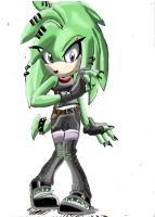 AT: ivy the echidna by Blinded-Djinn