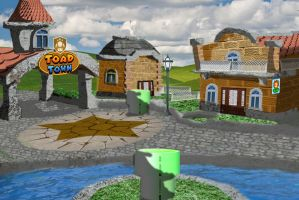 Toad Town real life by jhr921