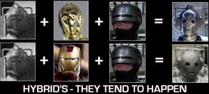 Hybrid's - They tend to happen by DoctorWhoOne