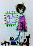 purretty kitty by Nepeta-Leijon