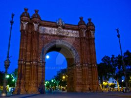Night Time Arch by bellafreck