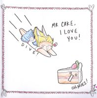I heart Cake by O-Ve-Lordaere