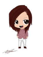 Chrissy Costanza (Chibi) (Brian L.) by yellowpandabl