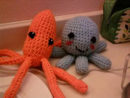 Octavius and... Squid by lesliesketch