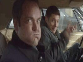 Dean and Crowley GIF by IndaB