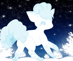 A Winter Vulpix for Adopting(Closed) by AwesomeSachiko1