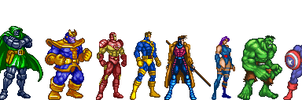 Marvel Universe by MJC100