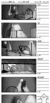 Werewolf Storyboards: Part 01 by DragonBeak