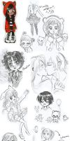 Draw's Arts | Doodles by Loves2LucyD19