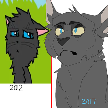 2012 vs 2017 by riley-the-ambivert