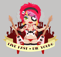 Live Fast - Die Young by pai-thagoras