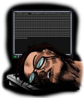 Sleepy Programmer by Veritude