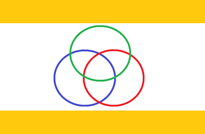 Federation of Canaan Flag. by dragonvanguard