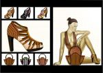 illustration shoes2 by Carla-lima