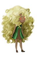 Whimsicott Preview / A something a day - 5 by TaliC-os