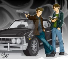 Supernatural Color by ZombieGirl01