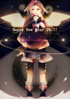 Happy New Year 2017! by Hoshi-Pan