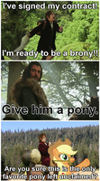 Brony Bilbo Baggins: Beggars Can't Be Choosers by elnachato
