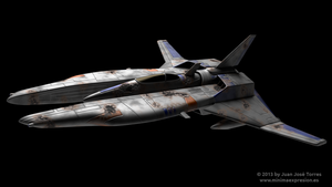 Vic Viper from Gradius saga (v1) by JuanJoseTorres