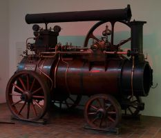 Steam Engine by konishkichen