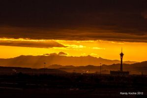 Vegas Sunrise by digitalabstract