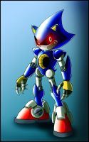 Metal sonic redesign by zeiram0034