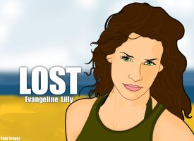 Evangeline Lilly by TomTrager
