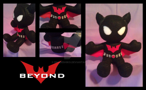 Batman Beyond Plushie by DNadeshiko