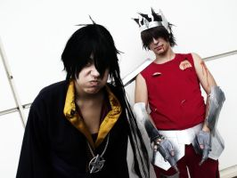 Lost Canvas Backstage Hades and Tenma - SC Cosplay by theSCcosplay