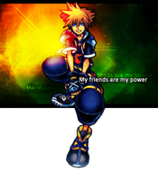 [Kingdom Hearts 2]Sora Signature (request) by yoanribeiro