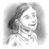 Anne Frank by RiverKpocc