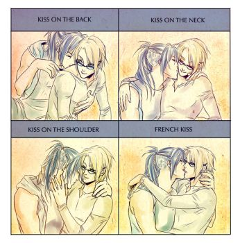 Sexy kiss by Noiry
